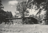 Historic CWC lodge around 1958