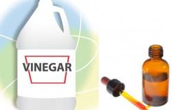 Vinegar & iodine as wood furniture polish