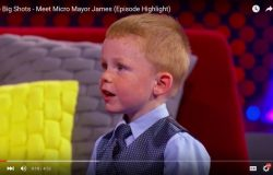 "Our famous local mayor – on NBC's ""Little Big Shots"""