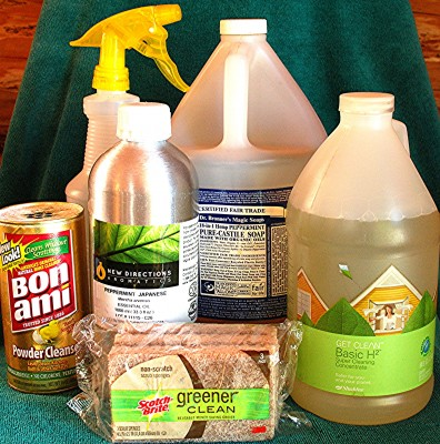 natural cleaning products used at CWC