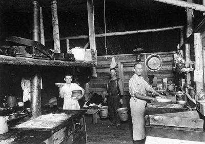 historic MN logging camp